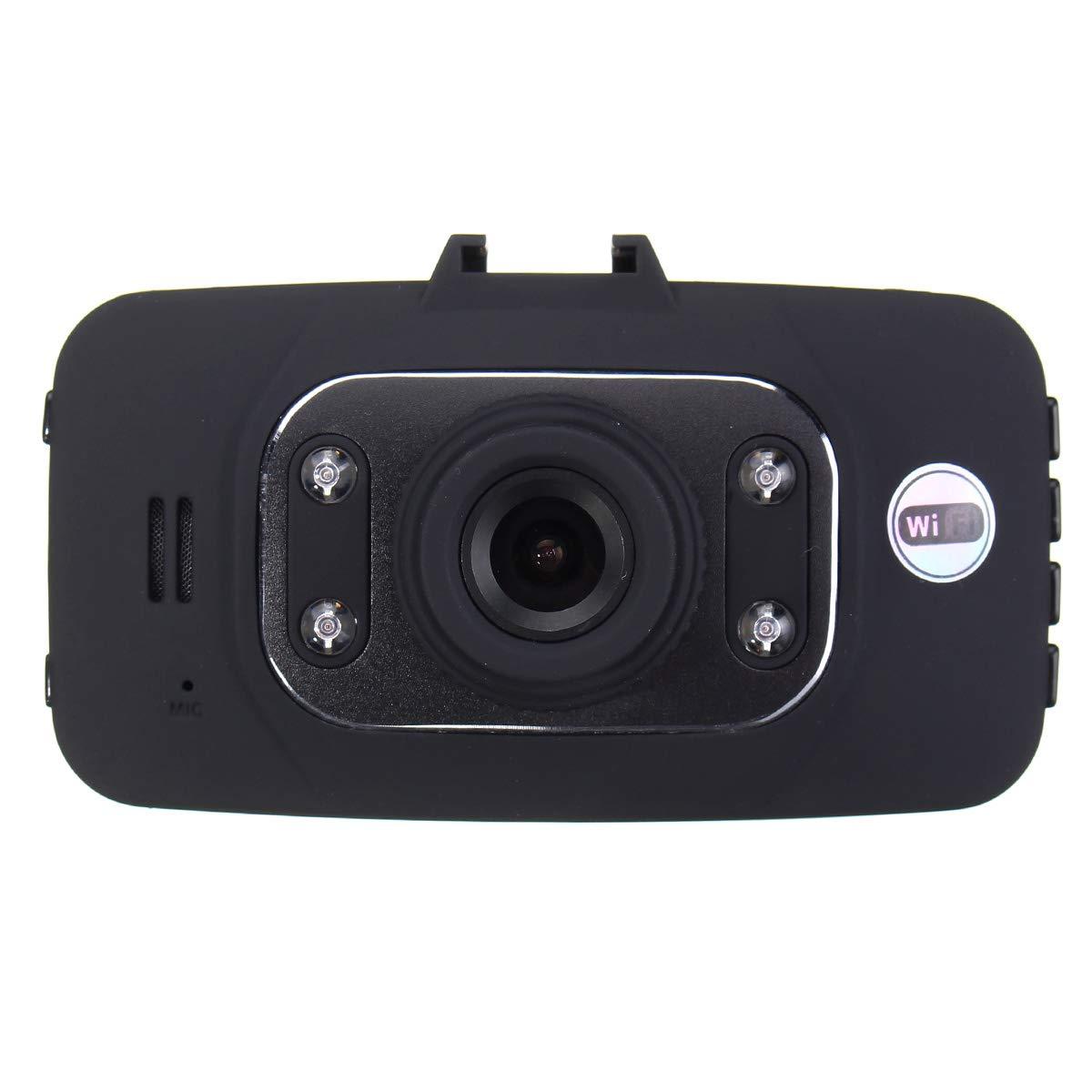 FeLiCia Gs8000 2.7 Zoll 1080P Fhd Wifi Doppelobjektiv-Auto-Kamera GPS-Schlag HD Dvr Video Recorder