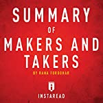 Summary of Makers and Takers by Rana Foroohar: Includes Analysis |  Instaread