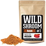 Reishi Mushroom Extract Powder 10:1 by Wild Foods | Fruiting Bodies, Vegan, Paleo, All-Natural Adaptogenic Immune Function, Sleep Aid, Nootropic (4 ounce)
