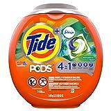 Tide PODS with Febreze, Liquid Laundry Detergent Pacs, Botanical Rain, 54 count
