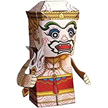 Paper Ramayana Toy Model Postcard and 3 D Cut-out Statue - Ha-nu-man(chief Monkey) Type 1