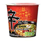 Nongshim NS27060S Shin Cup Noodle Soup, 75g (Pack of 6)
