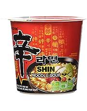 Nongshim Shin Noodle Soup, 6 x 75 Gram, 450 Gram