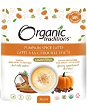 Organic Traditions Limited Edition Pumpkin Spice Latte - 150g/5.3oz