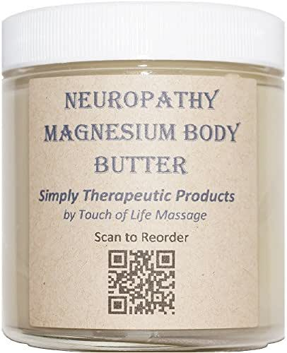 Neuropathy Magnesium Body Butter, All-Natural Product
