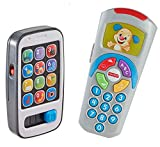 Fisher-Price Laugh & Learn Gift Set, Smartphone and Remote [Amazon