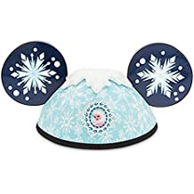 Disney Parks Frozen Elsa Anna 2 Side Mickey Mouse Ears Hat Adult Size
