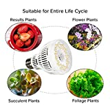 SANSI 15W LED Grow Light Bulb, Daylight White