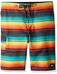 Boys' Santa Cruz Stripe Boardshort