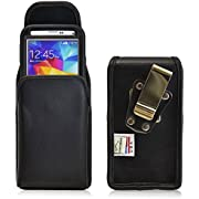 Turtleback Belt Clip Holster Case Fits Samsung Galaxy S5 With Otterbox Case Extended Vertical Pouch
