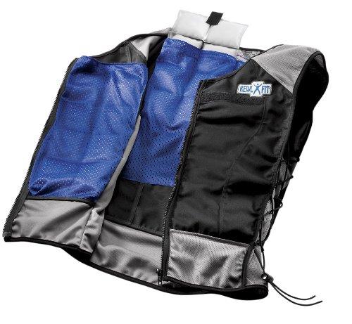 X-Small Small KewlFit Performance Enhancing Vest, Black Grey, X-Small Small