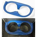 Opar Blue Back Seat Cup Holder Accent for 2007 - 2010 Jeep JK Wrangler & Unlimited