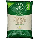 Zulka Morena 100% Pure Cane Sugar - NON-GMO All Natural Great Taste - Great for Baking , 4 lbs (Pack of 2)