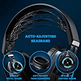 EKSA PS4 Gaming Headset Xbox One Headset with Noise