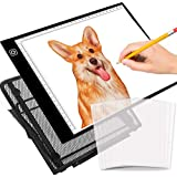 Selizo A4 Size LED Light Box Tracer with Stand and Tracing Paper for Diamond Painting Drawing Sketching Animation