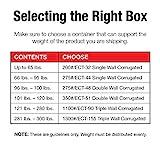 """Aviditi 161616 Corrugated Cardboard Box, 16"""" L x"""