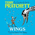 Wings: The Bromeliad Trilogy #3 Audiobook by Terry Pratchett Narrated by Stephen Briggs