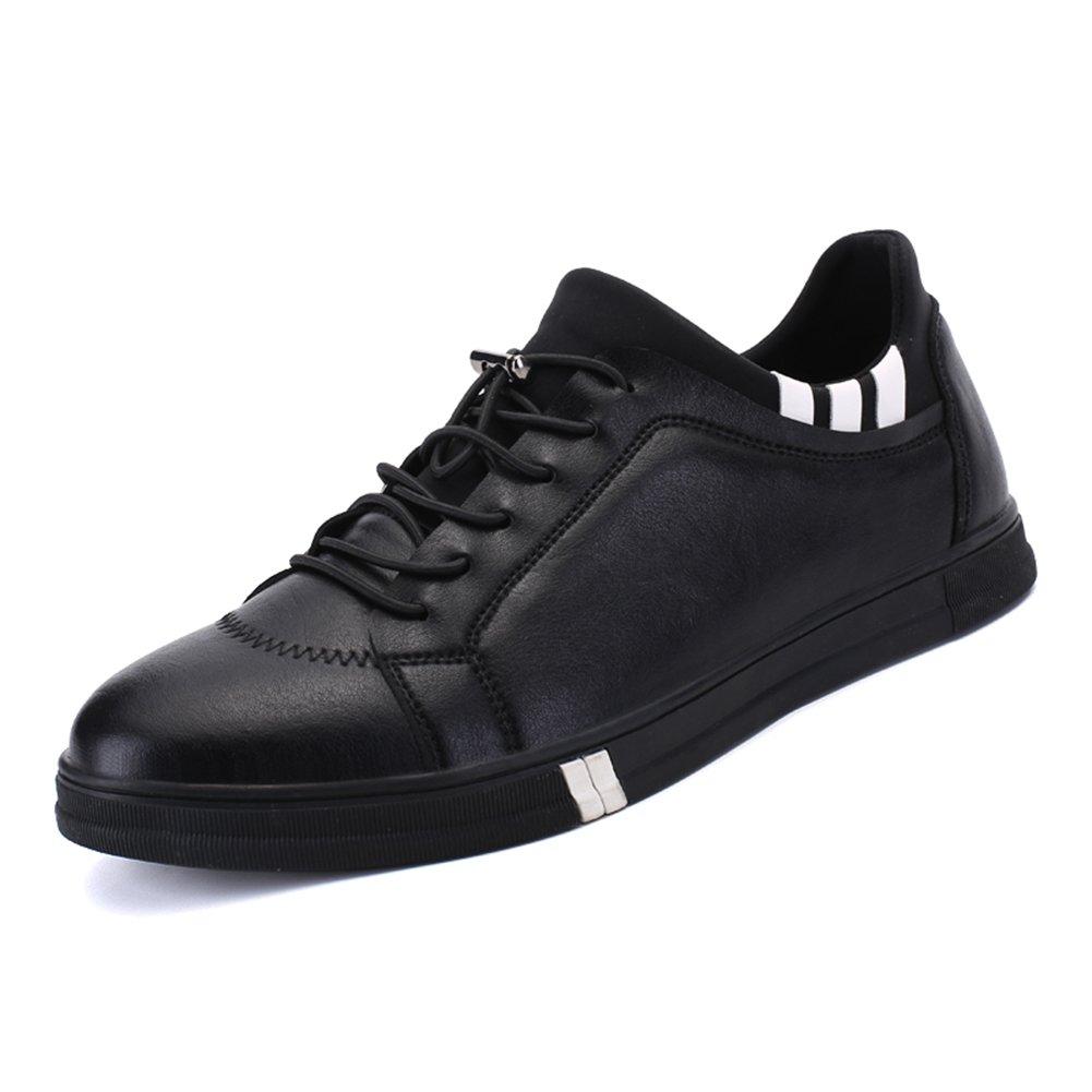 YIXINY YIXINY YIXINY Schuhe Turnschuhe H1686HH Frühling Und Herbst Spell Farbe Mode Atmungsaktiv Outdoor Casual Männer Schuhe (Farbe   SCHWARZ, größe   EU40 UK7 CN41) 71f62a
