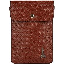 Paris Emblem Braid Womens Pouch Bag for Nokia Lumia 1520, 1320, 735, 830