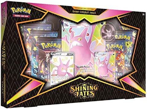 Pokemon Sword & Shield 4.5 Premium Box Shiny - Crobat V