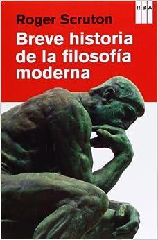 Breve historia de la filosofia moderna (DIVULGACIÓN