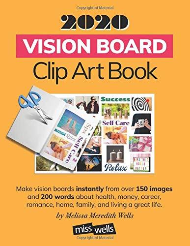 2020 Vision Board Clip Art Book
