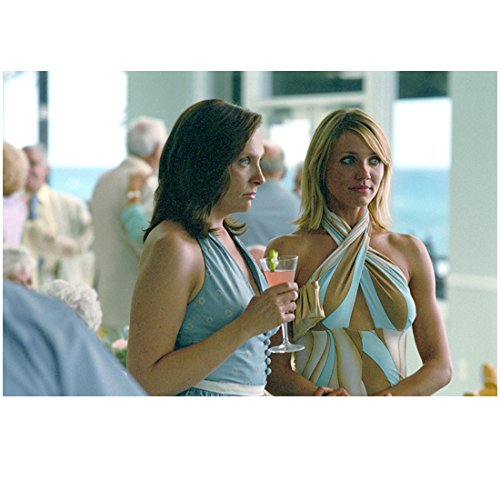 In Her Shoes Toni Collette as Rose and Cameron Diaz as Maggie at cocktail social gathering 8 x 10 Inch Photo