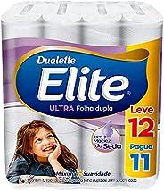 Papel Higiênico Elite Dualette Folha Dupla Ultra