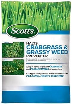 Scotts Halts 5,000-sq ft Crabgrass & Grassy Weed Preventer