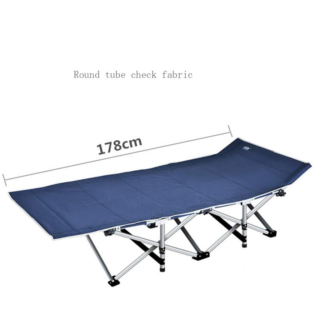 A2 Reinforced Folding Bed Office Folding Bed Single Bed Lunchtime Recliner Simple Accompanying Camping Bed Upgrade Without Noise (color   A11)