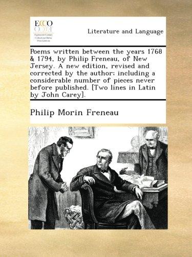 Philip Freneau Biography