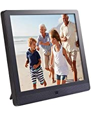 Pix-Star 10 Inch Wi-Fi Cloud Digital Picture Frame with IPS high Resolution Display, Email, iPhone iOS and Android app, DLNA and Motion Sensor (Black), PXT510WR08