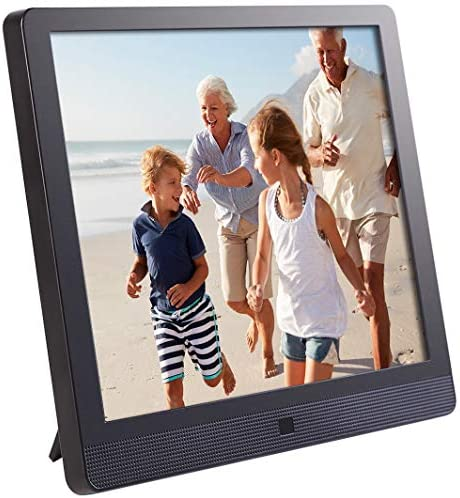 Pix-Star 10 Inch Wi-Fi Cloud Digital Picture Frame with IPS prime answer show, Email, iPhone iOS and Android app, DLNA and Motion Sensor (Black)