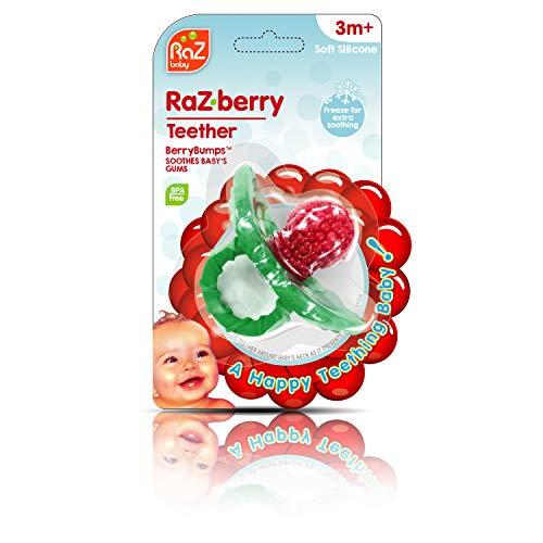 RaZbaby RaZ-Berry Silicone TeetherMulti-Texture