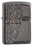 Zippo Deep Carved Old Royal Filigree Armor Pocket