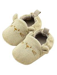 Shuohu Baby Soft Sole Shoes Cute Panda Dog Pattern Footwear