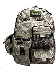Track 19 Deluxe Camouflage Backpack