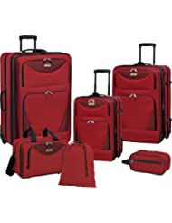 Sky View Collection- 6pc EVA Expandable  set in Black