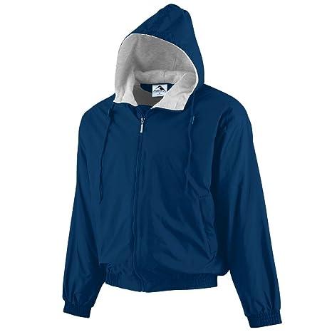 Hooded Jacket Nylon Fleece