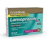GoodSense Acid Reducer, Lansoprazole Delayed Release Capsules, 15 mg, 42 Count