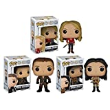 FunKo Pop TV Once Upon a Time hero family Emma Swan Snow White and Prince Charming Figures