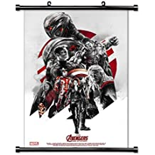 Avengers Age of Ultron Movie Fabric Wall Scroll Poster (32 x 48) Inches