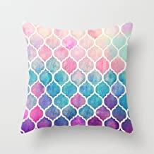 artistdecor euro style pillow covers 18 x 18 inches / 45 by 45 cm best choice for teens,outdoor,wedding,play room,girls,bedding with double sides