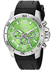Invicta Mens Pro Diver Quartz Stainless Steel and Polyurethane Casual Watch, Color Black (Model: 24007)
