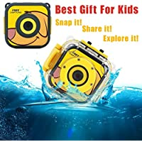 Mchoice 720P Waterproof Sports Camera HD CAMCORDER Holiday learn Camer Toy For Children