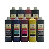 InkOwl® - 9x500ml Bulk Pigment Ink for use in EPSON Stylus Pro 3800, 4800, 7800, 9800 (includes Matte Black) - Made in the USA