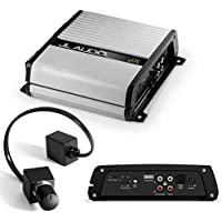 Jl Audio Jx500/1d Mono Subwoofer Amplifier - 500 Watts RMS X 1 At 2 Ohms With JL Audio RBC1 Remote Bass Control