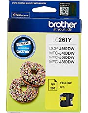 Brother LC261Y Yellow Ink Cartridge