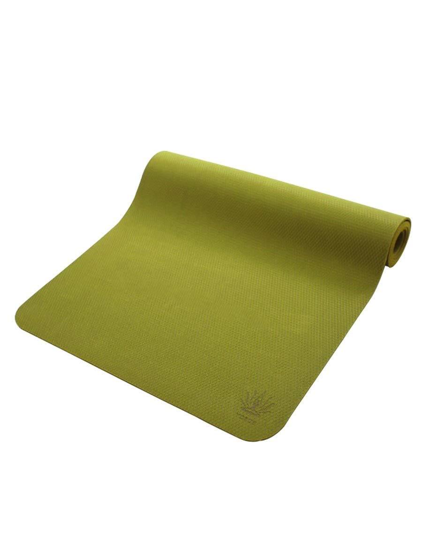 Vert-2 SPORTS Non Glissante Tapis d'exercice, Tapis de Yoga 72x24 Pouces Tapis de Fitness Pro Tapis écologique Anti-dérapant pour Pilates 183cmX61cm