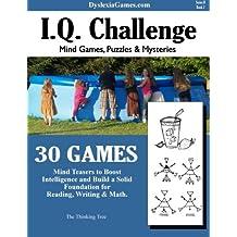 Dyslexia Games - IQ Challenge - Series B Book 2 (Dyslexia Games Series B) (Volume 2)